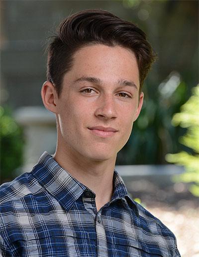 High School Photo of Brody Herrick